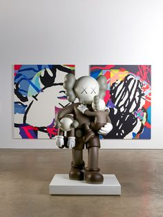KAWS continues ascendency to contemporary art elite in Yorkshire show on stupefying scale...