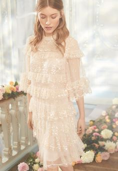 Stunning Dresses, Beautiful Gowns, Pretty Dresses, Pink Gowns, Pink Dress, Bridesmaid Dresses, Wedding Dresses, Dress Cuts, Mesh Dress