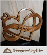 EDITOR'S CHOICE (05/18/2016) Sweet Heart scroll saw project by Steve Tow View details here: https://woodworkingweb.com/creations/2840-sweet-heart-scroll-saw-project