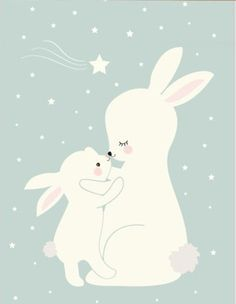 Nordic Kawaii Cartoon Animal Deer Bear Rabbit Poster Baby Kids Room Wall Art Print Picture Canvas Painting Home Deco No Frame Kids Room Wall Art, Nursery Wall Art, Canvas Pictures, Print Pictures, Baby Posters, Dog Poster, Cute Cartoon Animals, Bunny Art, Cute Illustration