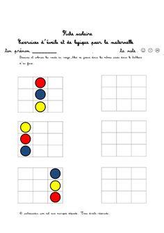 soutien scolaire   Exercices faciles   reperage-dans-espace-couleur-rond-3