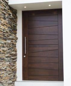 Artistic Wooden Door Design Ideas To Try Right Now 28 Flush Door Design, Room Door Design, Door Design Interior, Modern Entrance Door, Modern Wooden Doors, Modern Front Door, Entrance Doors, Wooden Front Door Design, Fresh To Go