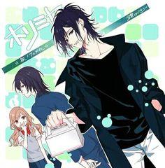 Anime Couples Manga, Cute Anime Couples, Anime Guys, Manga Art, Manga Anime, Anime Art, Sakura Mochi, Gekkan Shoujo Nozaki Kun, Yandere Simulator