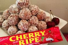 Cherry Ripe Balls - BellyBelly's Famous Recipe!