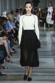 Carolina Herrera Fashion Show Ready to Wear Collection Spring Summer 2017 in New York