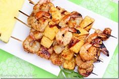 Sweet shrimp and pineapple are marinated to create these amazing Shrimp and Pineapple Kabobs! Hi friends! When I started Running in a Skirt three years ago, I never could have imagined how big a ro…