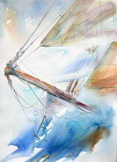 Автор - Marginalisimus . Это цитата этого сообщения Французский художник и яхтсмен Philippe Gavin.   Philippe Gavin - французский художник-акварелист, специализирующийся на…
