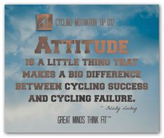 #Cycling Motivational Poster