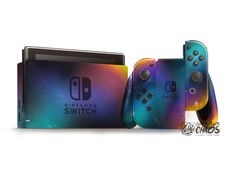 Nintendo Switch with Neon Blue and Neon Red Joy-Con (Discontinued by Manufacturer) Nintendo Switch Games, Xbox 360 Games, Wii Games, New Super Mario Bros, Super Smash Bros, Nintendo Switch Accessories, Gaming Accessories, Gamers, Games Today
