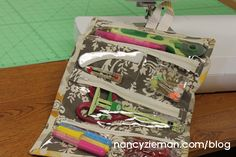 How to sew a notions organizer caddy by Nancy Zieman