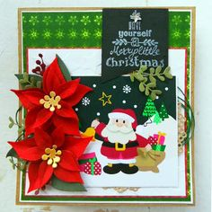 Marianne Design Collectables Cutting Dies & Stamps - Eline's Poinsettia COL1393