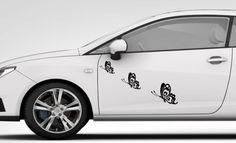 3x BUTTERFLY STICKER Car Bumper Van Window Wall Laptop JDM VINYL DECALS