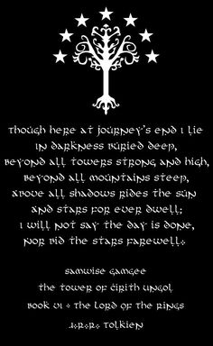 Lord of the Rings - 'Sam's Song'. I think I have found my tombstone....<<--interesting idea. although I prefer not to think about that just yet...