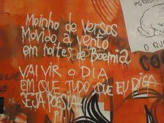 Poesia no Museu Oscar Niemeyer - Curitiba - PR
