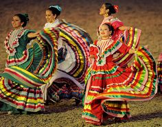 Mexican dancers at the Queen's diamond jubilee pageant.    Photograph: Paul Hackett/Reuters