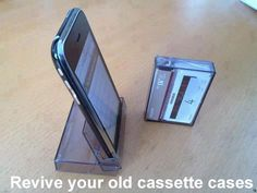 Revive your old cassette cases