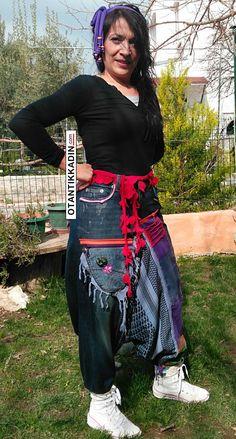Otantik Kot Şalvar 190216   Otantik Kadın, Otantik Giysiler, Elbiseler,Bohem giyim, Etnik Giysiler, Kıyafetler, Pançolar, kışlık Şalvarlar, Şalvarlar,Etekler, Çantalar,Takılar
