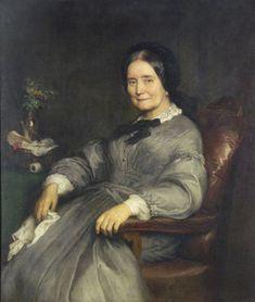 Székely, Bertalan | Mrs. Keresztély |  1860s | Oil , Canvas  111 x 95,5 cm | Inv.: 6306