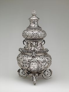 Incense Burner T L (English, mid-late 17th century)