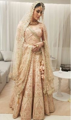 Here's a look at Vogue's top picks from our Bridal Couture Collection 2017 - Lasya. ( ・・・ First look at 'Lasya', Bridal Heirloom 2017 collection 2016 Wedding Dresses, Indian Wedding Outfits, Bridal Outfits, Indian Outfits, Bridal Dresses, Dresses 2016, Indian Groom Wear, Indian Bridal Wear, Indian Attire