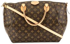 75fdbff8132b Louis Vuitton Monogram Canvas Turenne GM Bag Used Louis Vuitton