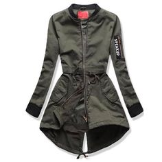 Military Inspired Fashion, Military Fashion, Army Look, Hijab Fashion, Fashion Outfits, Casual Dresses, Casual Outfits, Jackets For Women, Clothes For Women