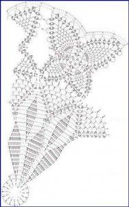 frecrochet doily pattern butterfly 2 188x300 Free Crochet Doily Pattern  With Butterflies Circular