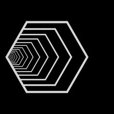 Triode (Original Mix) by Spokdarkset on SoundCloud Illusion Drawings, Illusion Art, Geometry Pattern, Geometry Art, Geometric Graphic, Geometric Designs, Motif Art Deco, Design Art, Logo Design