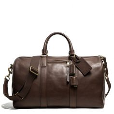 The Bleecker Duffle In Leather from Coach