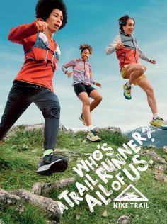 Nike Trail Sports Advertising, Just Do It, Trail, Running, Nike, Movies, Movie Posters, Films, Keep Running