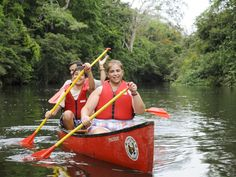 Best Eco-Tourism Resorts and Hotels within Five Hours of the United States Rent a canoe at The Lodge at Chaa Creek and explore the Macal River