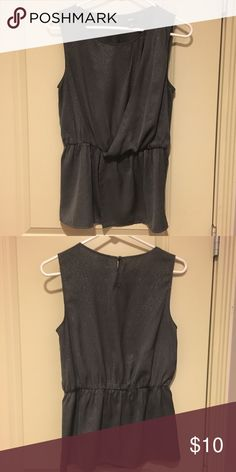 Mossimo Grecian Style Draped Top Excellent condition. sleeveless top with elastic gathering and drape at waistline. Mossimo Tops