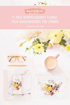 Free Desktop Wallpaper, Wallpaper Downloads, Tech Background, Amazing Flowers, Bloom, Place Card Holders, Digital, Floral, Flowers