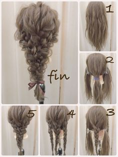 If you want to master it, it& absolutely practical - - frisuren haare hair hair long hair short Box Braids Hairstyles, Party Hairstyles, Wedding Hairstyles, Popular Hairstyles, Fall Hairstyles, Teenage Hairstyles, Modern Hairstyles, Waitress Hairstyles, Mermaid Hairstyles