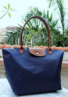 Navy Longchamp Tote (I love my red one, but it doesn't go with everything)