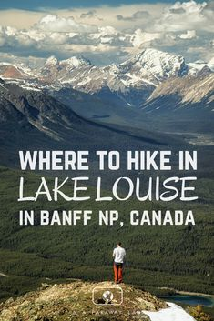 A list and information about the best day hikes around Lake Louise in Banff National Park. Yoho National Park, National Parks, Banff Hiking, Hiking Trails, Places To Travel, Places To Visit, Travel Destinations, Rv Travel, Travel Guides