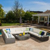 Found it at AllModern - Mariscal 12 Piece Deep Seating Group with Cushions
