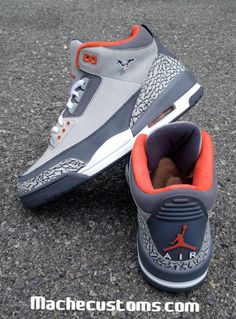 new concept b141d 47c46 Nike Air Jordan Pigeon customs by MCK Cheap Jordan Shoes, Cheap Jordans, Air  Jordan