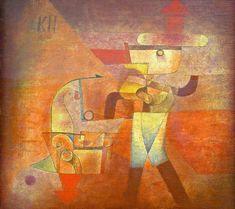 KLEE, Paul • KN the Blacksmith, 1922 Kandinsky, Watercolor Artists, Watercolor Paintings, Oil Paintings, Painting Art, Museum Paris, Art Museum, Paul Klee Art, Art Moderne