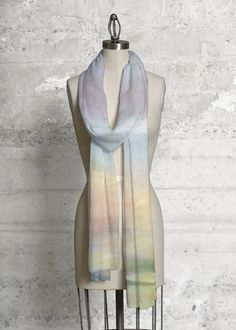 This eco-chic scarf, made with soft, luxurious fabric, will add a bold, modern touch to any wardrobe. Scarf, Green Pattern, Beach Day, Print Patterns, The Originals, Chic, Fabric, United States, Outfits