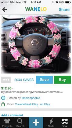 Cute steering wheel cover