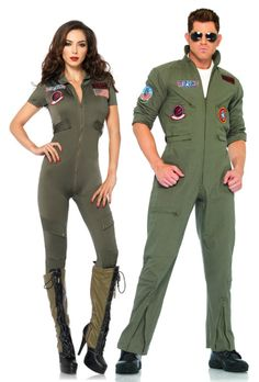 Top Gun is a classic choice, but the women's jumpsuit is a new silhouette for 2015!