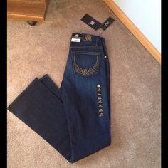 Rock & Republic Jeans NWT boot cut kasandra jeans. Size 0 short Rock & Republic Jeans