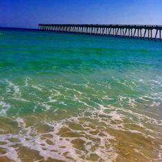 Navarre Beach, Florida Beach Vacation Spots, Vacation Places, Vacation Ideas, Vacations, Navarre Beach Florida, Florida Beaches, Santa Rosa Island, Ocean Themes, Sunshine State