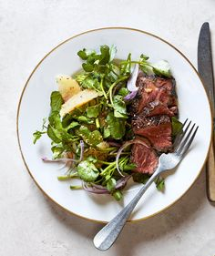 ... With Watercress, Grapefruit, and Red Onion Salad   RealSimple.com