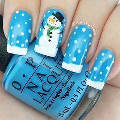 80 Beautiful Stylish and Trendy Nail Art Designs for Christmas Nail Art Designs, Fingernail Designs, Design Art, Christmas Nail Designs, Christmas Nail Art, Xmas Nails, Holiday Nails, Winter Nail Art, Winter Nails