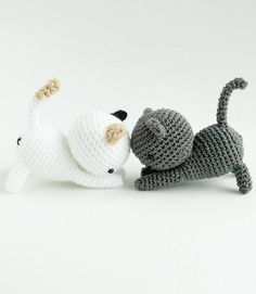 These cat amigurumi patterns are too cute for words!