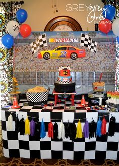 party racing birthday Adult