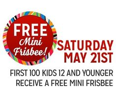 Kmart Freebie Saturday - Free Frisbee