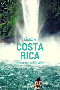 Solo Travel Destination: La Fortuna, Costa Rica http://solotravelerblog.com/solo-travel-destination-la-fortuna-costa-rica/